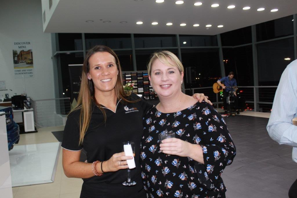 Ashlea Heisner and Kerri Welsh