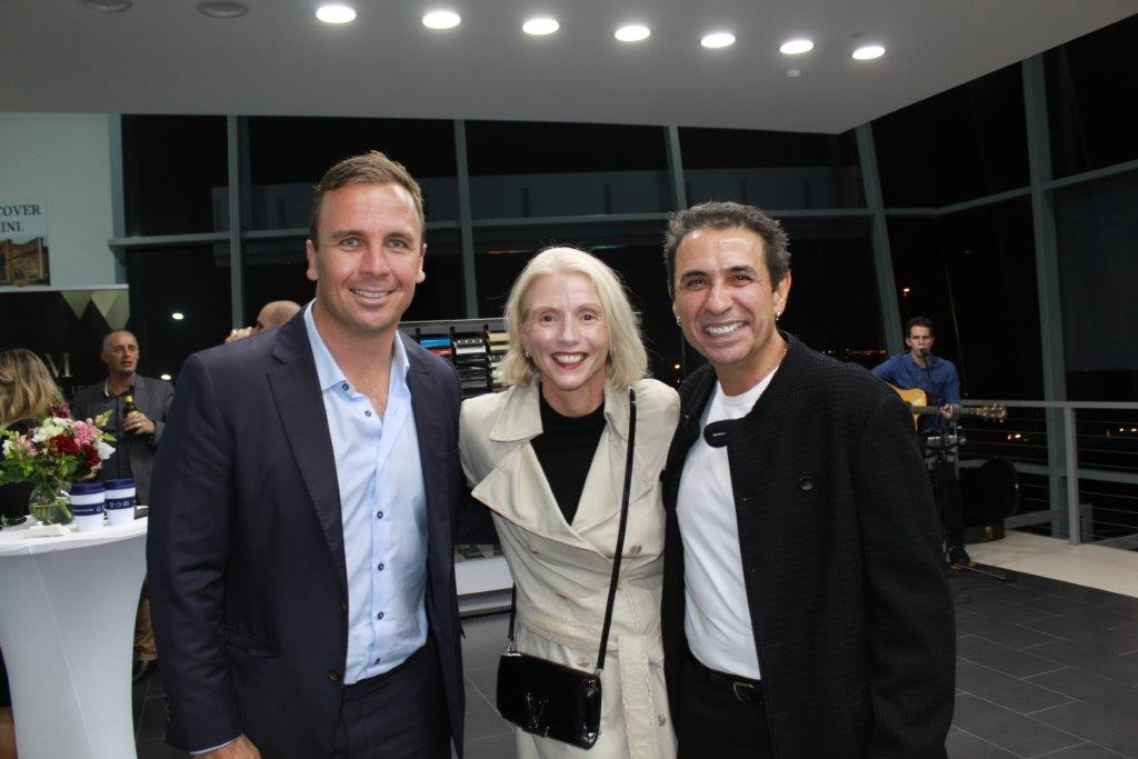 Dan Sowden, Leisa Toomey and Walter Iezzi