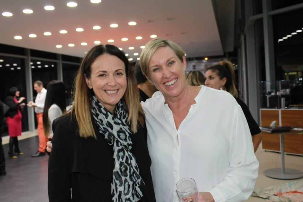 Jo Madden and Lisa Bathersby