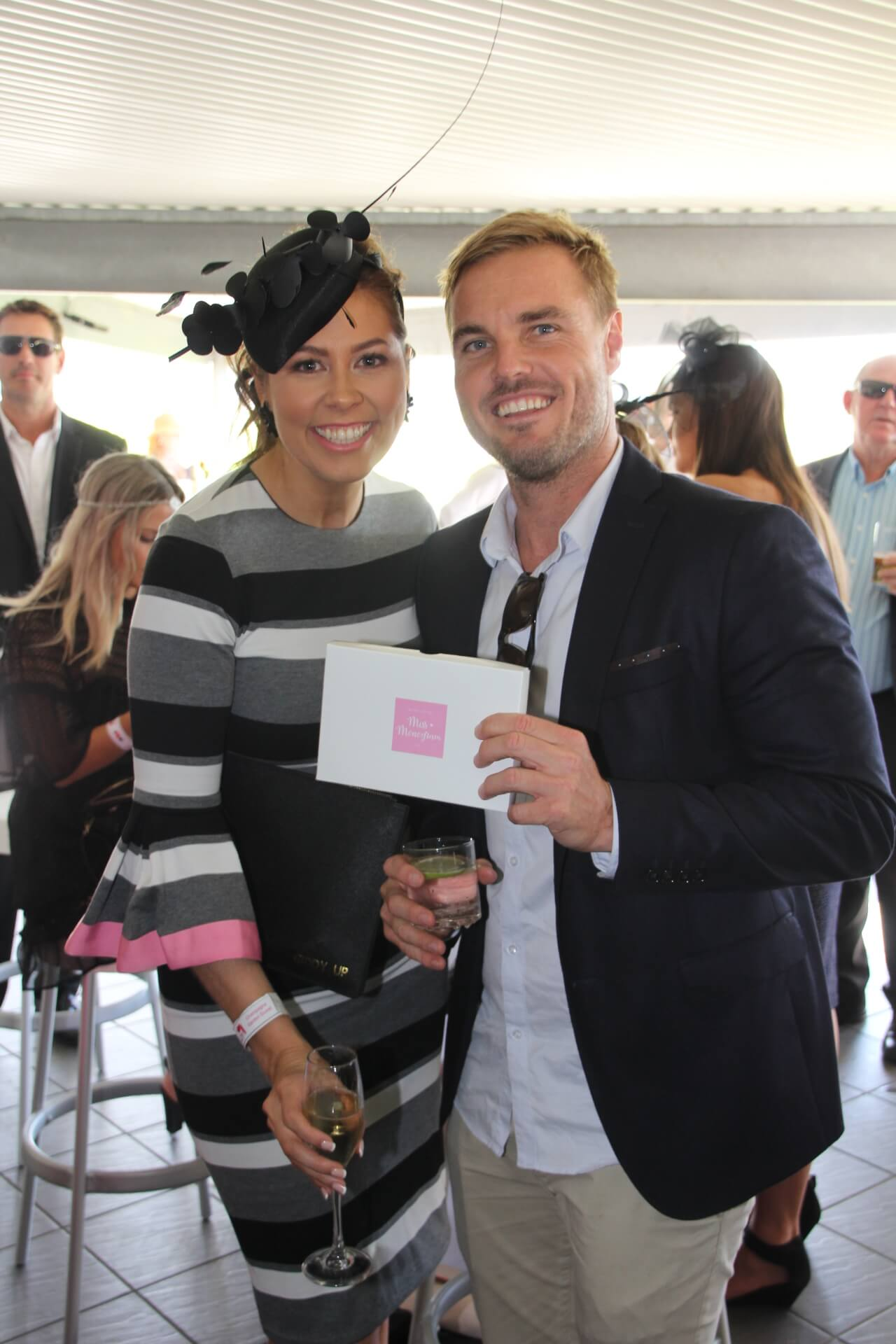 Natalie Tink, Craig Morrison (Best Dressed Male winner)