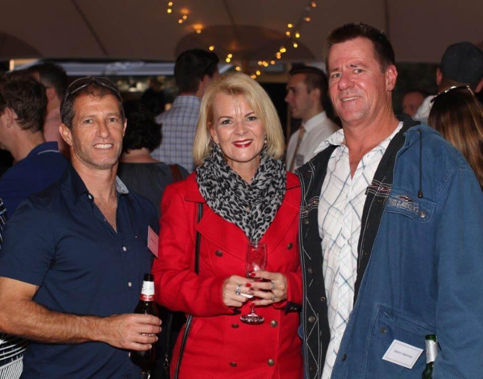 Andrew Taylor, Tanya Warriner, Glenn Warriner
