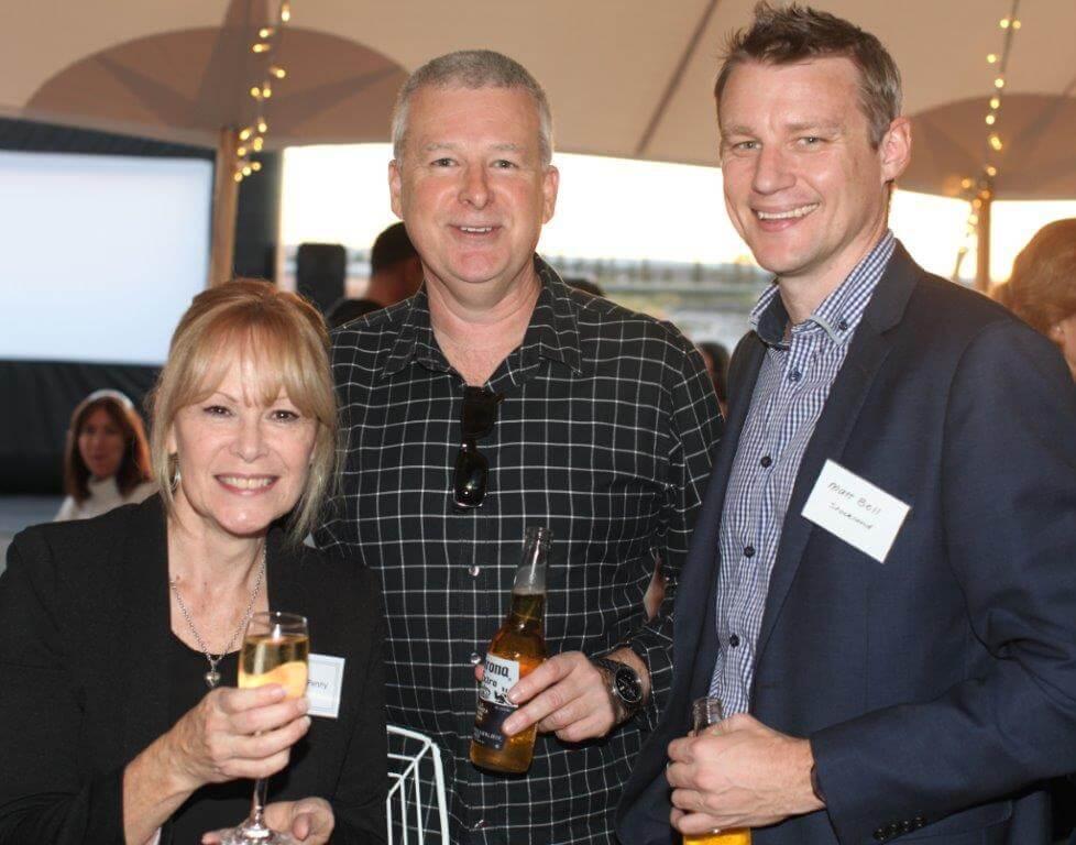 Annette Penny, Andrew Penny, Matt Bell