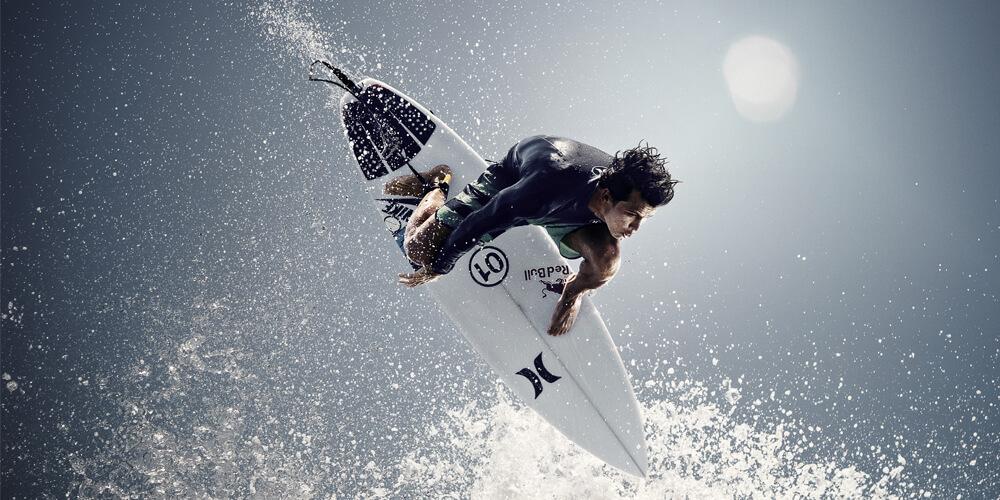 Sunshine Coast pro-surfer Julian Wilson won the World Surf League's Billabong Pro Tahiti.