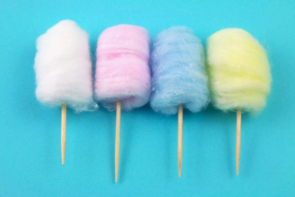 Fairy floss and cotton candy