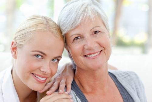 A survey shows women in their sixties have more body confidence.