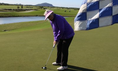 Josie Ryan in action at the Maroochy River Golf Club