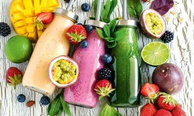 Unicorn food or colourful, rainbow food is healthy