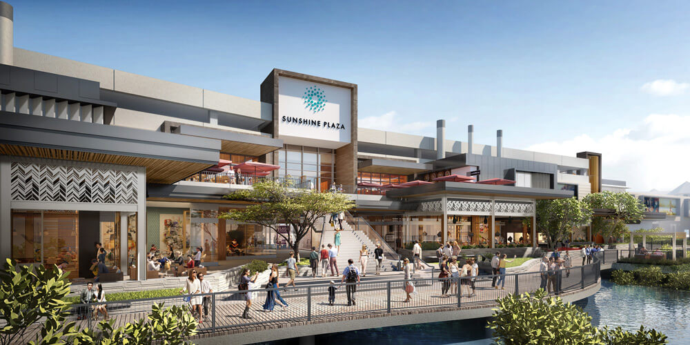 Sunshine Plaza has introduced paid parking as part of its redevelopment.