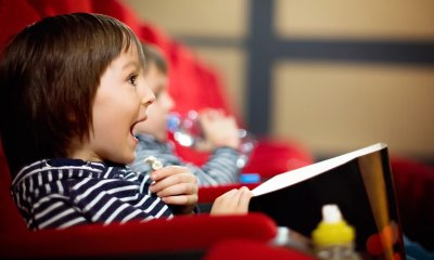 The movies are a great way to entertain children these school holidays says Sami Muirhead