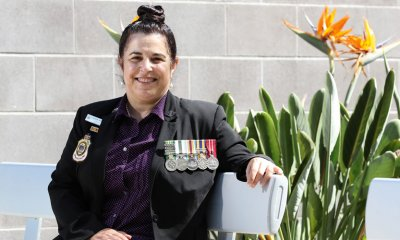 Women, including Cathy Stamp, will lead the Anzac Day marches in 2018.