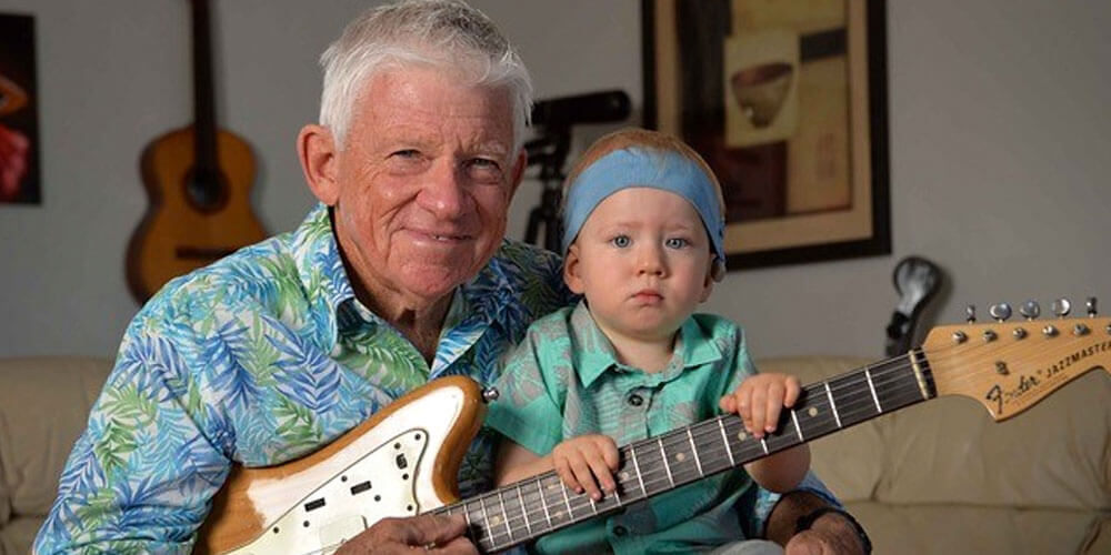 Musician and proud grandfather Barry Bull is heading back to the stage, raising funds and awareness for local organisation Hear and Say.