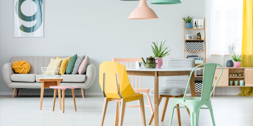 Let pastels tones colour your home this spring.