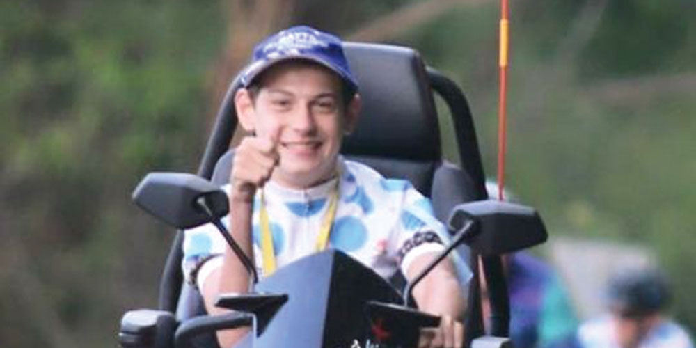 Sunshine Coast teenager plans to take on the Buderim 9 Challenge for his favourite charity.
