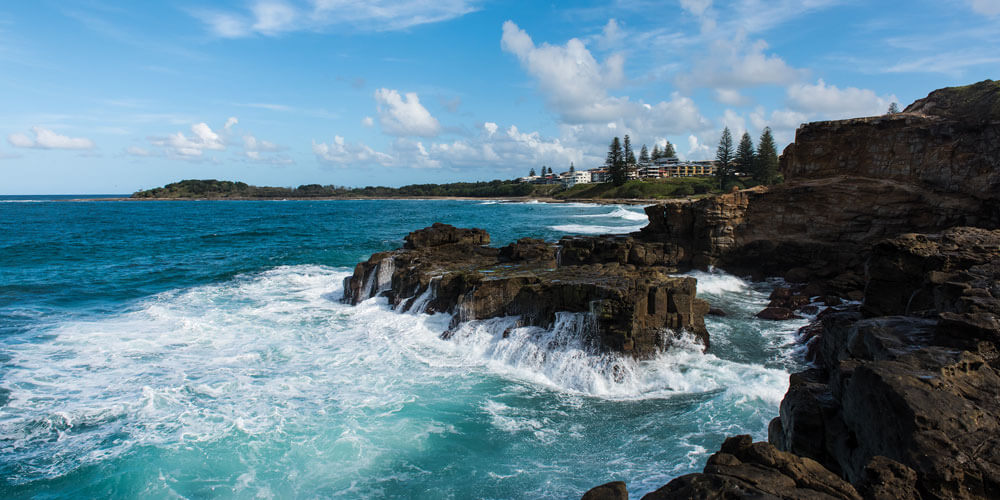 Chill out in the peaceful coastal village of Yamba that hasn't changed much in 20 years.