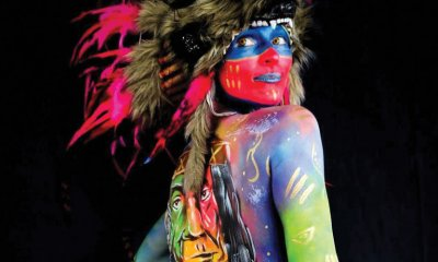 The Australian Body Art Festival returns to add a bit of colour to Cooroy.