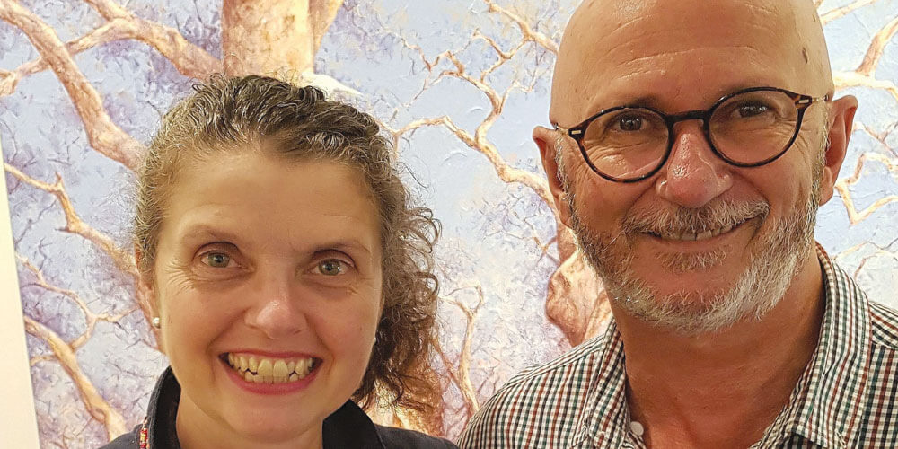 The Sunshine Coast art scene, and the region's many artists, owe a lot to Tony Gill and Jane Caraffi, enthusiastic art lovers and the owners of Maleny gallery Art on Cairncross.