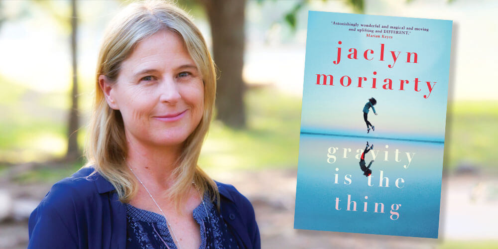 With the weather cooling down, it's the perfect time to curl up on the couch with a warm cup of tea and a good read. We chat with Australian author Jaclyn Moriarty about her new release.
