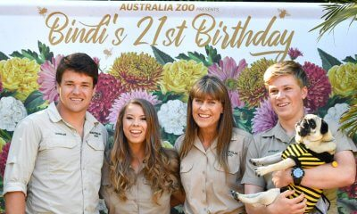 Bindi Irwin celebrates her 21st birthday