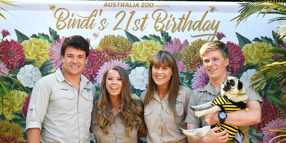 Bindi Irwin celebrates her 21st birthday