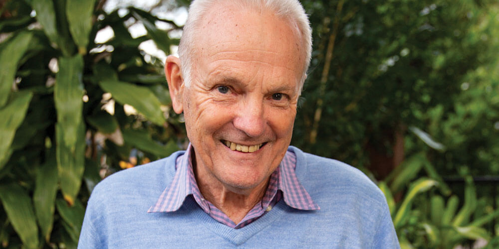 John Devers is one of the key volunteers behind the Buderim Foundation's success, celebrating 15 years of giving this year.