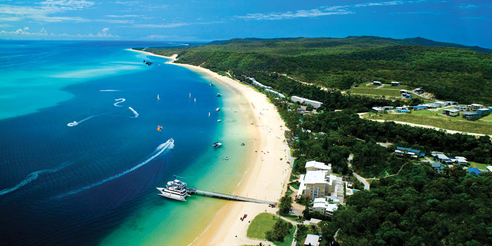 Tangalooma Island Resort is the place to base yourself while you explore Moreton Island, a veritable paradise that's easily accessible to Sunshine Coasters craving a nearby getaway.