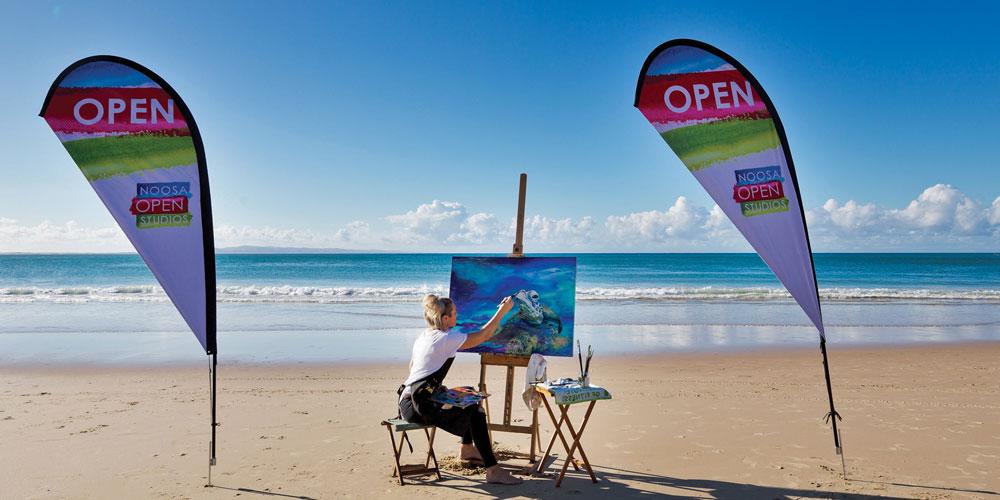 Noosa Open Studios to draw art lovers