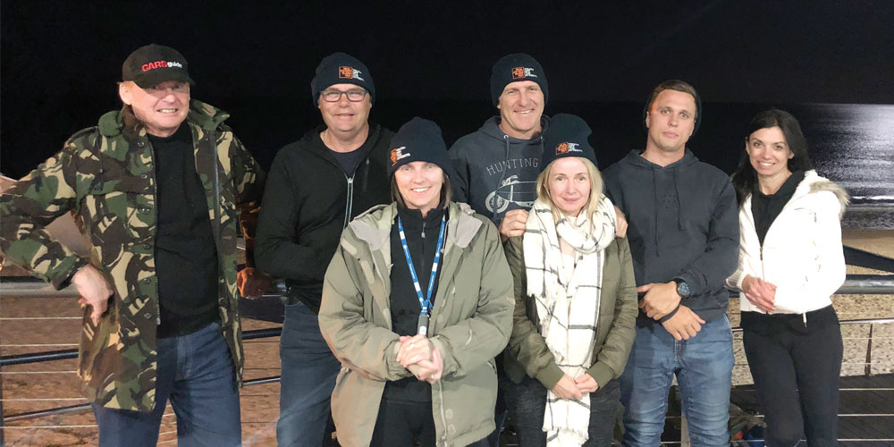 Sunshine Coast real estate agents forgo a decent night's sleep to raise money for youth homelessness services.