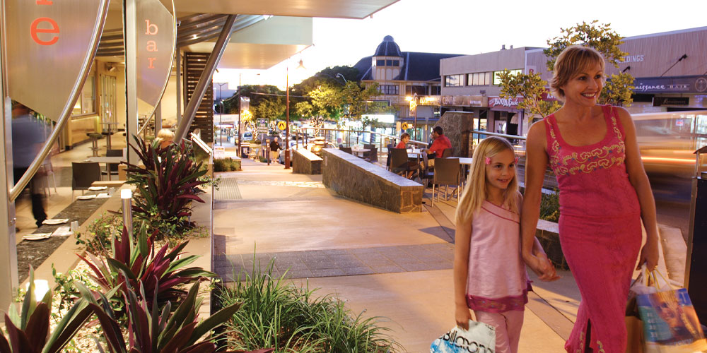 It's all happening on Caloundra's new-look Bulcock Street, as retailers open their doors for a special shopping experience.