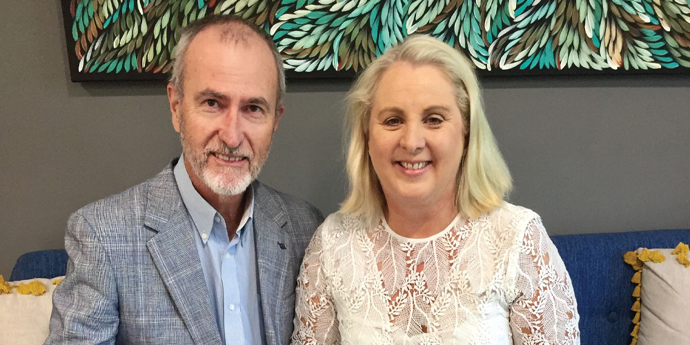 Sandra and John Reardon reflect on their pioneering approach to cancer treatment for Sunshine Coast patients.