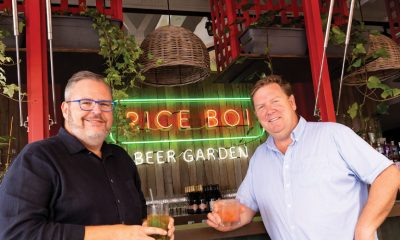 The new Rice Boi Beer Garden has opened at The Wharf Mooloolaba.