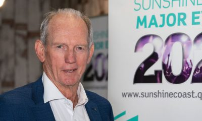 Wayne Bennett spoke about leadership, commitment and self-belief when he visited the Coast recently.