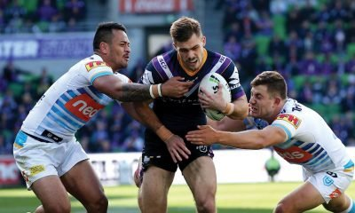 Footy fans will be treated to a winter storm like no other tonight, July 17, as the NRL's Melbourne Storm take to Sunshine Coast Stadium against the Gold Coast Titans.