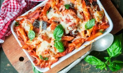 Lucy, aged 12, who enjoys cooking with her mum shares her original recipe for a deliciously cheesy zucchini pasta bake