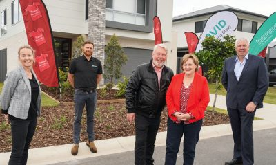 The Daniel Morcombe Foundation's Build it for the Kids project home is set to go to auction.