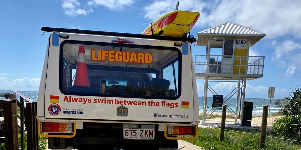Stay safe this summer and swim on more than 20 patrolled beaches between the flags.