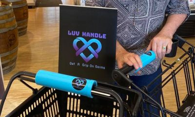 The COVID lockdown inspired this Sunshine Coast entrepreneur to invent the Luv Handle.