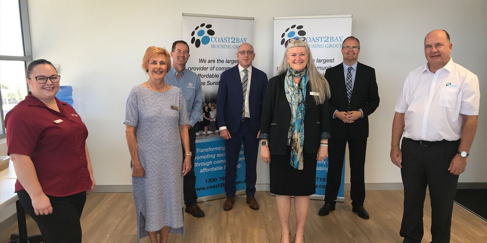A government grant will go towards providing emergency housing for families on the Sunshine Coast