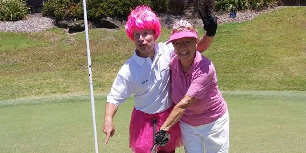 What a score, what a story… a hole-in-one hit for two years consecutively for the same person. WORDS: Tracey Johnstone.