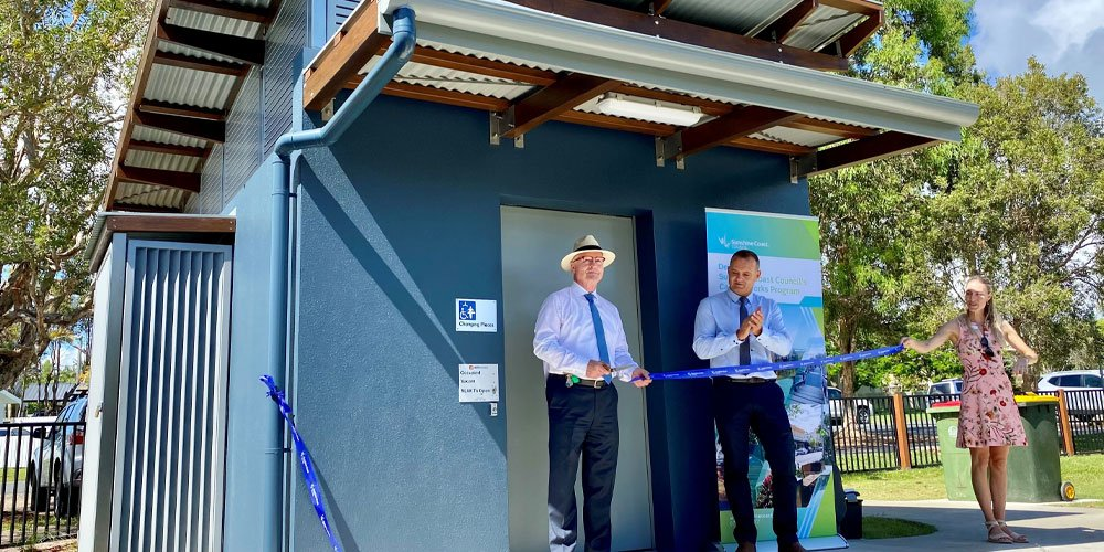 Those with high support needs can now access an upgraded amenities block at a popular Currimundi park.